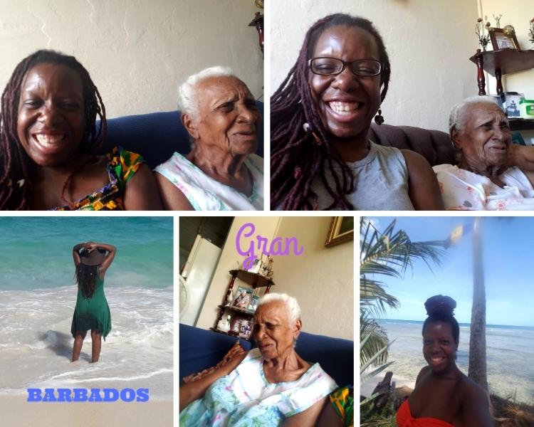 Barbados with Gran